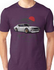 Nissan Skyline GTR Kenmeri (white) Unisex T-Shirt