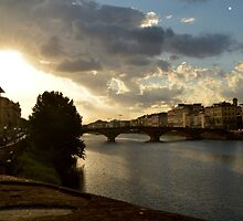 Florence Sunset by HelloBox23