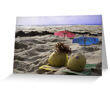 Australian Beach Potatoes Greeting Card