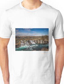 Bjarnafoss waterfall Unisex T-Shirt