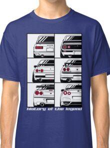 Nissan Skyline. History Classic T-Shirt