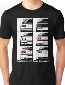 Nissan Skyline. History Unisex T-Shirt