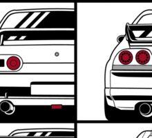 Nissan Skyline. History Sticker