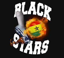 Ghana Black Stars Soccer Emblem Ghana Flag T-Shirt Unisex T-Shirt