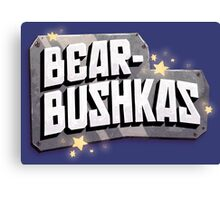 Bearbushkas - Logo Canvas Print