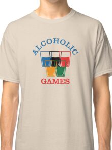 Alcoholic Games Classic T-Shirt