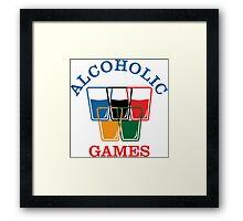 Alcoholic Games Framed Print
