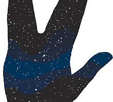 Vulcan salute by boogiebus