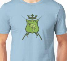 Fisherman's heraldic shield Unisex T-Shirt