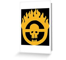 Mad Max - Fury Road Skull Greeting Card