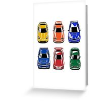 Legendary Japan Cars Greeting Card