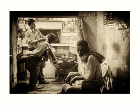 Into the Barbershop  by lamiel
