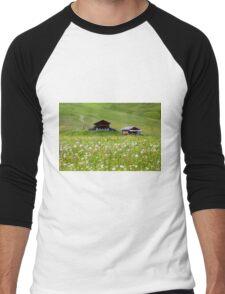 The huts Men's Baseball ¾ T-Shirt