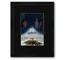 This Might Hurt. Framed Print