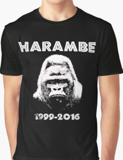 HARAMBE 1999 - 2016 Graphic T-Shirt