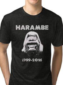 HARAMBE 1999 - 2016 Tri-blend T-Shirt