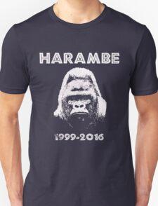 HARAMBE 1999 - 2016 Unisex T-Shirt