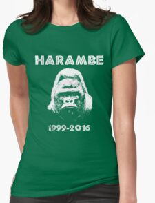 HARAMBE 1999 - 2016 Womens Fitted T-Shirt