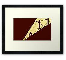 High Wired Framed Print
