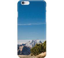 winter day in the italian alps iPhone Case/Skin
