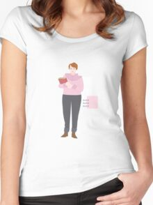 BARB / STRANGER THINGS Women's Fitted Scoop T-Shirt