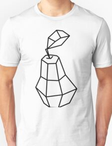 pea Vector illustration, polygonal design black and white drawing Unisex T-Shirt