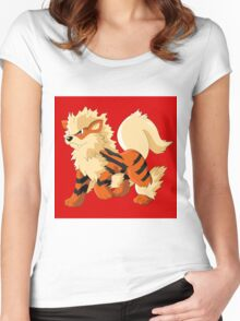 Pokemon Go Arcanine (T-Shirts, Phone cases and more) Women's Fitted Scoop T-Shirt