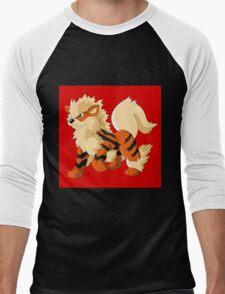 Pokemon Go Arcanine (T-Shirts, Phone cases and more) Men's Baseball ¾ T-Shirt
