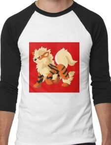 Pokemon Go Arcanine (T-Shirts, Phone cases and more) Men's Baseball ¾ T-Shirt