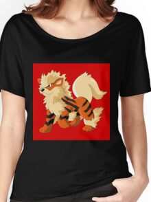 Pokemon Go Arcanine (T-Shirts, Phone cases and more) Women's Relaxed Fit T-Shirt