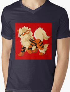 Pokemon Go Arcanine (T-Shirts, Phone cases and more) Mens V-Neck T-Shirt