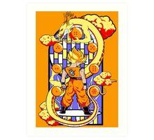 Legend of the Dragonballs Art Print