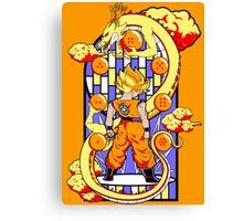 Legend of the Dragonballs Canvas Print