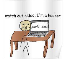 """hacker"" Poster"