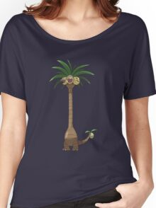 Alola Exeggutor T Shirt Women's Relaxed Fit T-Shirt