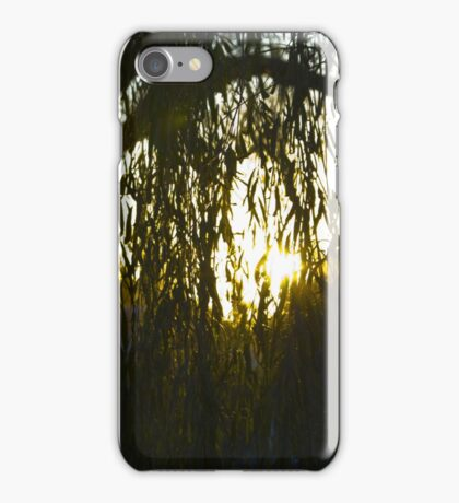 Willow Silhouette iPhone Case/Skin