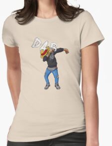 Dab Luffy Dance Womens Fitted T-Shirt