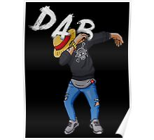 Dab Luffy Dance Poster