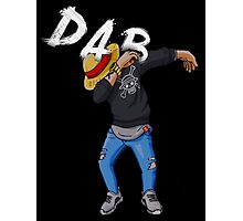Dab Luffy Dance Photographic Print