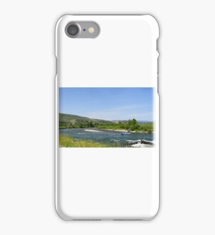 Rafting on Snake River iPhone Case/Skin