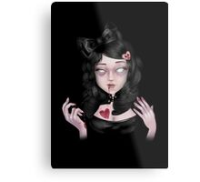 Lolly Zombie | Coffee. . . Brains. . . or Tea? Metal Print