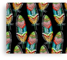 Feathers With A Spirit Canvas Print