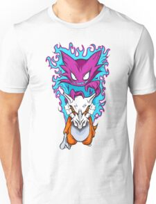 The Haunting -  Cubone & Haunter Fanart Unisex T-Shirt