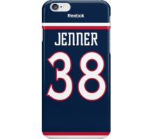 Columbus Blue Jackets Boone Jenner Jersey Back Phone Case iPhone Case/Skin