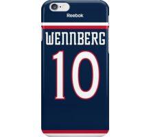 Columbus Blue Jackets Alexander Wennberg Jersey Back Phone Case iPhone Case/Skin
