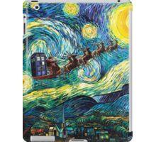 Tardis Santa Starry Night iPad Case/Skin