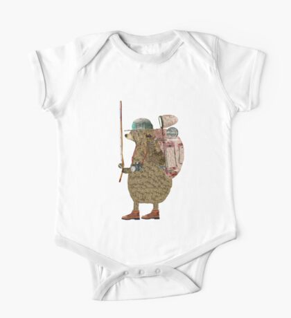 nature bear One Piece - Short Sleeve