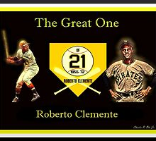 "Roberto Clemente - ""The Great One"" by SteelCityArtist"