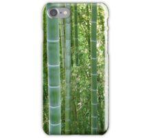 Bamboo grove, bamboo forest natural green background, Georgia, Batumi Botanical Garden iPhone Case/Skin