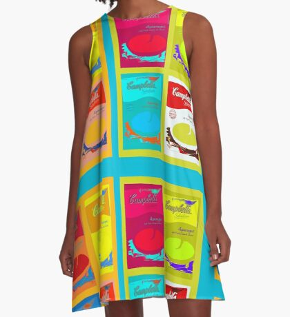 8 boxes of campbell's soup A-Line Dress